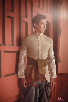 Traditional Thai Fashion for the Groom