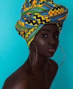 35 Amazing Turban Headwraps 2020 With Simple Ways Black Girl Art, Black Women Art, Black Girl Magic, Black Girls, Black Men, African Beauty, African Fashion, Princesas Da Disney Punk, Moda Afro