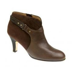 The Vanessa in Espresso Tumbled Calf. On sale for $495. #AnyiLu #boots #fashion #shoes