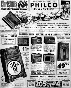 Vintage Newspaper Advertising For The 1940 Philco Radios, … | Flickr