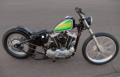 Bobber Inspiration - lowbrowcustoms: Customer Spotlight: Kyle Cole...   Bobbers and Custom Motorcycles   lowbrowcustoms July 2015