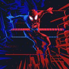 Miles Morales - Ultimate Spider-Man, Into the Spider-Verse Comics Spiderman, Spiderman Spider, Amazing Spiderman, Superhero Spiderman, Marvel Art, Marvel Heroes, Marvel Avengers, Drawing Cartoon Characters, Marvel Characters
