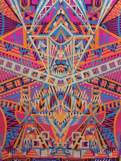 handmade prints are the latest work of up and coming textile surface designer Phillippa Copping. The designs are a colourful mash up of bold African-inspired tribal patterns and exotic flora and fauna.