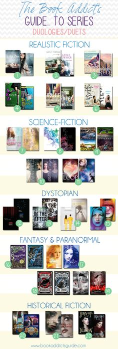 Two-book series/duologies seem to be gaining popularity in YA! Looking to start and finish a series quickly? Check out some of these duets!