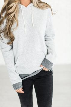 It's cute, it's so soft & cozy, and it's worth every single penny (and more!) Fleece pullover hoodie 50% Polyester, 46% Cotton, 4% Rayon See Sierra's sizing HERE, she is wearing size Small See Margie'