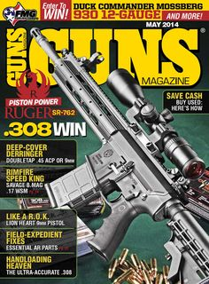 39 best magazine covers images on pinterest revolvers gun and in the may 2014 cover story for guns magazine mike duke venturino takes a look at the ruger and finds e heavy duty rifle offers great accuracy and fandeluxe Image collections