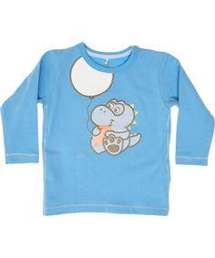 Name It lichtblauwe t-shirt met Elliot het draakje. name-it.nl.emilea.be