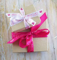 Personalised Printed Ribbon / Branding  http://theribbonreel.co.uk/category/30238-personalised-printed-ribbon.aspx