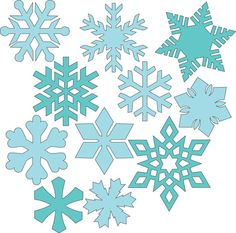 Svg files for Christmas - Snowflakes