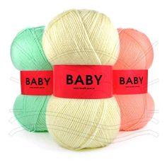 Fio Baby Lanafil Lançamento Lanafil 2013 Composição: 100% Acrílico Contém: 420 m Fabricante: Lanafil