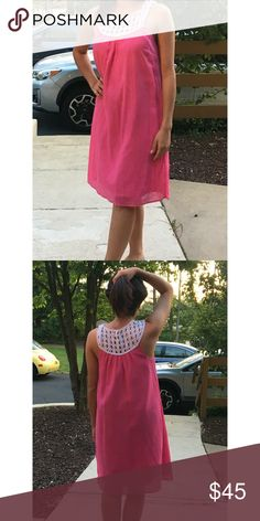 Lilly Pulitzer Swing Dress Never worn, worn once to try on. First owner did not wear either so this dress needs a good home so someone can wear it! Perfect for the spring or summer. Runs as a larger 4. Lilly Pulitzer Dresses