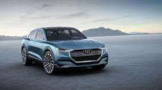 This is Audi's e-tron quattro concept, an electric SUV with 310-mile range
