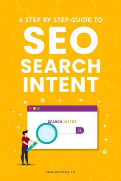 Search intent is the motivation behind a person's search query. It answers why they google-ed their search term in the first place. What is the… Marketing Digital, Content Marketing, Business Tips, Online Business, Seo For Beginners, Thing 1, Seo Strategy, Seo Tips, Make Money Blogging