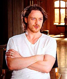 James McAvoy. He's so yummy
