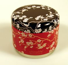 Beautifully decorated, high quality tins that are stackable to allow you to build and change your collection.