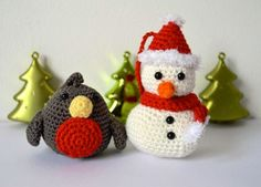 robin & snowman: free patterns on curly girl coop blog
