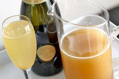 Perfect Pear Champagne Cocktail