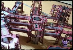 Towers and Walkways (by Miniature Scenery) #ChaoticColors #commissionpainting #paintingcommission #painting #miniatures #paintingminiatures #wargaming #Miniaturepainting #Tabletopgames #Wargaming #Scalemodel #Miniatures #art #creative #photooftheday #hobby #paintingwarhammer #Warhammerpainting #warhammer #wh #gamesworkshop #gw #Warhammer40k #Warhammer40000 #Wh40k #40K #terrain #scenery #Scifi #miniaturescenery #Towers #Walkways #killteam 40k Terrain, Warhammer 40000, Tabletop Games, Walkways, Gw, Towers, Monster Trucks, Scenery, Sci Fi