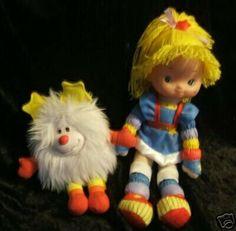 Rainbow Bright juguetes 80's