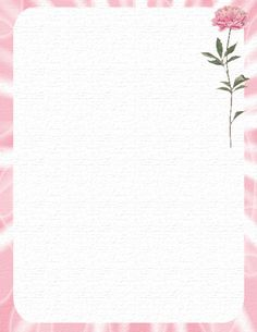 flower border stationery paper designs | floral 631 floral 632 floral 633
