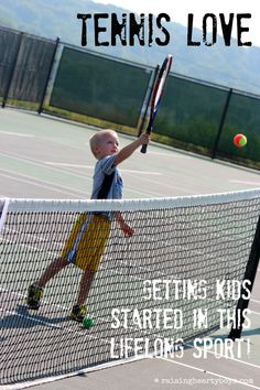 Four reasons tennis is a GREAT idea for kids.