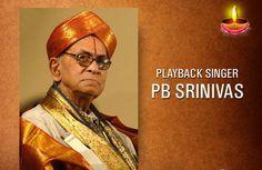 Tribute to PB #Sreenivas, great playback singer in Kannada, Telugu, Tamil, Hindi cinemas on his #birthday.