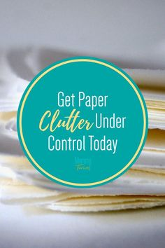 Paperwork Organization System Ideas - Filing System and Storage for Paper Clutter - Control Your Paperwork Clutter Paperwork Organization, Small Space Organization, Home Organization Hacks, Organizing Ideas, Declutter Your Home, Organizing Your Home, Organizing Clutter, Bullet Journal Cleaning Schedule, Clutter Control