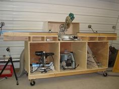 show me your miter saw tables - The Garage Journal Board