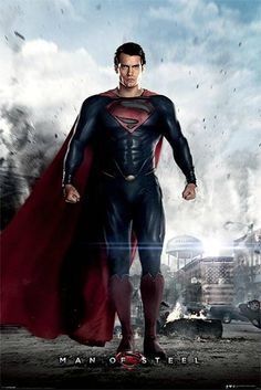 Superman : Man of Steel : Hope - Maxi Poster 61cm x 91.5cm (new & sealed)