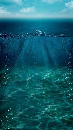 underwater backdrop Sea Photography, Underwater Photography, Photography Backdrops, Portrait Photography, Wedding Photography, Ocean Underwater, Underwater Photos, Under The Ocean, Sea And Ocean