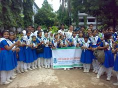 Chittagong Dynamic City Lions Club & Chittagong Golden City Leo Club Bangladesh - Lions and Leos planted trees