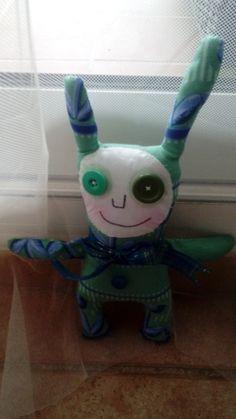 ugly art doll, soft cloth , cloth doll, ooak, handmade, gift idea by jansfabfairies on Etsy