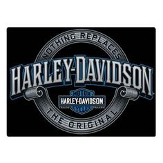 Harley-Davidson Irreplaceable H-D Embossed Tin Sign, 17 x 12.5 inches 2011361, Black (Metal)