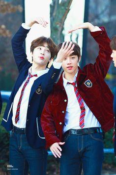 Kevin and Jacob - The Boyz Joo Haknyeon, Chang Min, All About Kpop, Fandom, Kim Sun, Lee Sung, We The Best, Flower Boys, K Idol