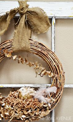 TUTORIAL: Christmas Wreath