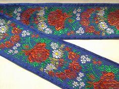 Stuha krojová folklór 10 cm modrá Home, Ad Home, Homes, Haus, Houses