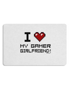 I Heart My Gamer Girlfriend Placemat