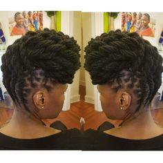 Natural Hair done Right Natural Hair Salons, Natural Hair Styles, Sisterlocks, Locs, Dream Hair, Crowns, Runway, Hairstyles, Key