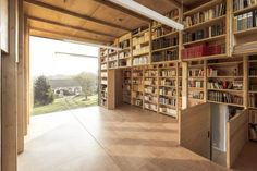Rural writer's nook overlooks the English channel in northern ...