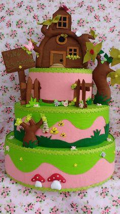 Gingerbread, Bolo Fake, Desserts, Food, Feltro, Tailgate Desserts, Fake Cake, Deserts, Ginger Beard