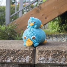 Addicted to Disney's Tsum Tsum? Time to crochet your own Perry amigurumi plush with this free pattern!