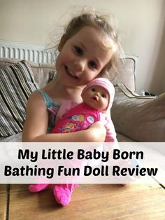 My Little Baby Born Bathing Fun Doll Review Pinterest