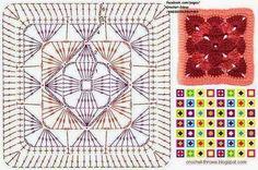 copertina mattonella | Hobby lavori femminili - ricamo - uncinetto - maglia