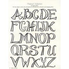 Oodles of Doodles | Design Originals ... Hand lettering inspiration