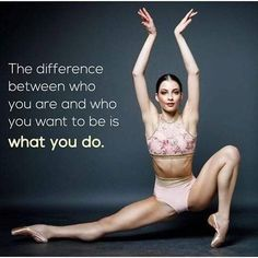 from just_dance_quotes - Work hard. for a chance to be featured. Dancer Quotes, Ballet Quotes, Ballerina Quotes, Quotes To Live By, Me Quotes, Motivational Quotes, Inspirational Quotes, Dance Motivation, Fitness Motivation