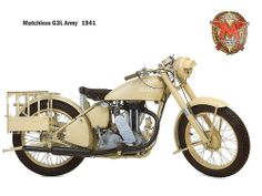 Matchless G3L Army 1941