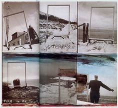 fire to the south.to the East America Robert Frank, Mabou, 1970 Robert Frank Photography, Collage, Conceptual Photography, His Travel, Photomontage, Still Image, Art Projects, Beautiful Pictures, Photos