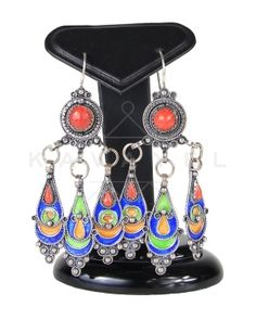 Boucles d'oreilles kabyle Agemmir
