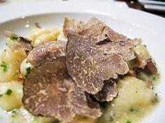 Black Truffles Gnocchi
