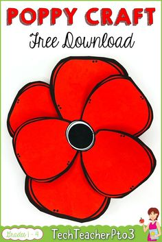 Real work done in real time ! Remembrance Day Activities, Remembrance Day Art, Veterans Day Activities, Holiday Activities, Hands On Activities, Kindergarten Freebies, Kindergarten Activities, Veterans Day Poppy, Poppy Craft